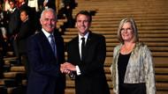 Fransa Cumhurbaşkanı Macron, Avustralya Başbakanı'nın eşi için leziz dedi