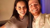 Adriana ve Metin'den yatakta aşk pozu