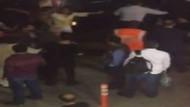 Sabiha Gökçen'de UBER şoförüne ve yolculara taksicilerden tekme tokat saldırı