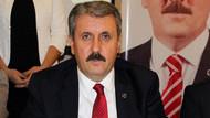 BBP lideri Mustafa Destici Ankara'dan AKP adayı