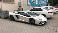 AKP'li aday Kenan Sofuoğlu parti toplantısına Lamborghini ile gitti