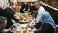Erdoğan iftarını Sargın ailesiyle birlikte açtı