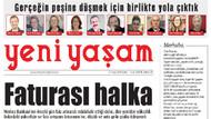 Yeni Yaşam gazetesi yayın hayatına başladı