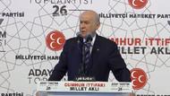 Devlet Bahçeli: Türkiye Cumhuriyeti dövizle kurulmadı!