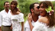 Seren Serengil ve Yaşar İpek çiftinin nikahından ilk kareler !