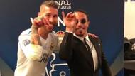 Sergio Ramos şampiyonluğu Nusret'in tuz serpme hareketiyle kutladı !