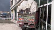 Freni patlayan kamyonet İstanbul'u birbirine kattı