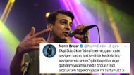 Norm Ender'in Ekşi Sözlük tweeti sosyal medyayı karıştırdı! Olay tepkiler..