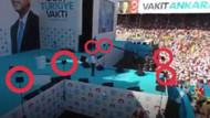 Recep Tayyip Erdoğan'ın mitinginde dikkat çeken prompter detayı