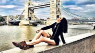Londra'da bir Türk güzeli