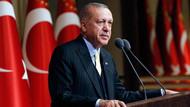 Recep Tayyip Erdoğan: Terör örgütlerinin başlarını inlerinde eziyoruz