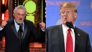 Donald Trump'tan Robert de Niro'ya: IQ'su düşük, kafasına çok yumruk yemiş