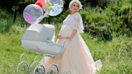 Nazlı Hamarat 5 günlük bebeğiyle dışarı çıktı olay oldu