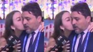 TRT Spor yorumcusu Ferhat Konyar'ın zor anları! Rus kadın canlı yayında öpünce...