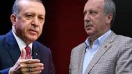 Gezici Araştırma: Erdoğan'ın oyu bir haftada yüzde 1,6 eridi, İnce'nin oyları yüzde 2 arttı
