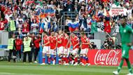 Rusya Dünya Kupası açılış maçında gol oldu yağdı