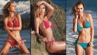 Brezilyalı model Kat Torres su firması tanıttı