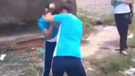 Bıçaklı kız kavgasındaki korkunç görüntüler pes dedirtti
