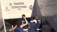 Taksim Metrosu'nda hareketli dakikalar! Tacizciye tokat