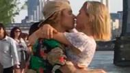 Justin Bieber ve Hailey Baldwin dudak dudağa!