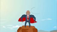 Bir animasyon da Saadet Partisi'nden: Temel Karamollaoğlu Superman oldu