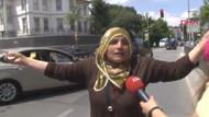 Erdoğan o kadını görünce konvoyu durdurdu