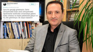 Fizik profesörü Ahmet Faruk Özdemir'den skandal tweet