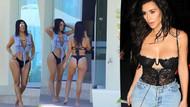 Kim Kardashian kalçalarına sahip olmak için yapmanız gerekenler
