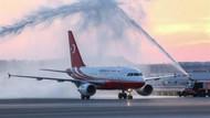 İstanbul'un 3. havalimanına ilk kez Erdoğan'ın uçağı iniş yaptı