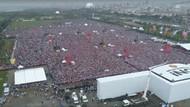 Muharrem İnce mitinginde yağmura rağmen milyonlar..