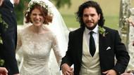 Game of Thrones'un Jon Snow'u Kit Harington dünyaevine girdi