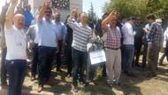 Ülkücülerden Yaşar Okuyan'a eşek maketli protesto