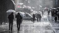 Meteorolojiden Türkiye'nin batısı için kuvvetli sağanak uyarısı