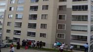 11'inci kattan düşen 2 yaşındaki çocuk ağır yaralandı