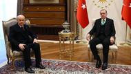 Recep Tayyip Erdoğan ve Devlet Bahçeli zirvesi sona erdi