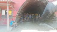 Maaş alamayan maden işçileri kendilerini ocağa kapattı