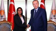 Venezuela'dan sürpriz ziyaret: Ankara'da Erdoğan ile görüştü
