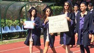 Boğaziçi mezuniyetinde rektöre protesto: Sırtlarını döndüler