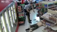 Kanada'da bir markette yaşanan inanılmaz olaylar zinciri kahkahaya boğdu