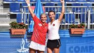 Akdeniz Oyunları'nda Başak Eraydın - İpek Öz ikilisinden altın madalya