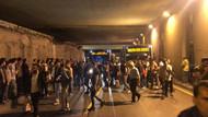 Zincirlikuyu'da gece yarısı servis dışı metrobüs isyanı