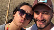 Tuğba Yurt - Cenk Şahin çiftinin yaz keyfi