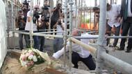 Muharrem İnce Demirel'in mezarında dua etti