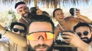Tuba Ünsal'ın boşanma partisi! Dört erkek arkadaşıyla eğlendi