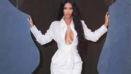Kim Kardashian yataktan çıkmadan 2 buçuk milyon beğeni aldı