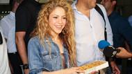 Shakira'ya İstanbul'da baklava ikramı