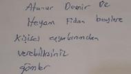 Adnan Oktar'dan avukata istek listesi