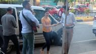 Sürpriz evlilik teklifi için gözaltına alınan gelin adayı şok oldu