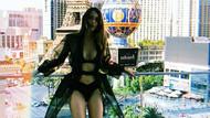 Dilan Çiçek Deniz'den Las Vegas'ta bikinili poz