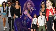 Ünlüler Shakira konserine akın etti